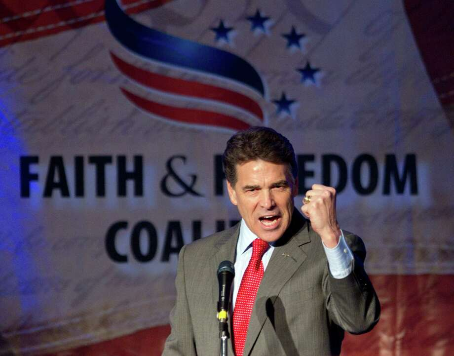 Rick Perry is the longest-serving governor of Texas, but couldn't last as a presidential candidate. Photo: David Goldman, Associated Press / AP