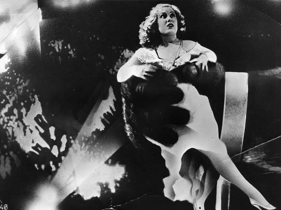 "Canadian actress Fay Wray in the clutches of King Kong, in a scene from the Hollywood horror movie, ""King Kong."" Photo: Hulton Archive, Getty Images / Moviepix"