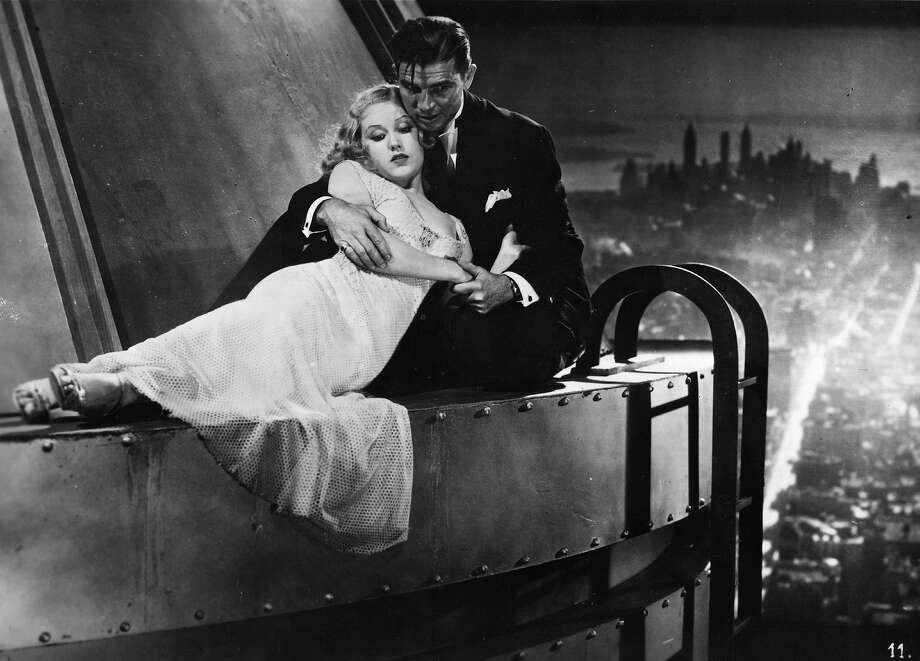 "A happy ending as Bruce Cabot, the square jawed American hero, and Fay Wray, the leading lady, are re-united high above New York in a scene from ""King Kong."" Photo: Hulton Archive, Getty Images / Moviepix"