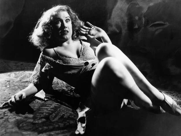 "Actress Fay Wray in RKO's film production of ""King Kong."" Photo: RKO Pictures, Getty Images / Moviepix"