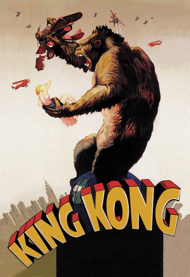 "Eighty years ago, the RKO picture ""King Kong"" transformed Hollywood while pioneering stop-motion techniques and special effects. The story remained so popular that the original was remade in 1976 and 2005.Click here for a clip of Kong climbing the Empire State Building. Photo: Buyenlarge, Time & Life Pictures/Getty Image / /Buyenlarge"