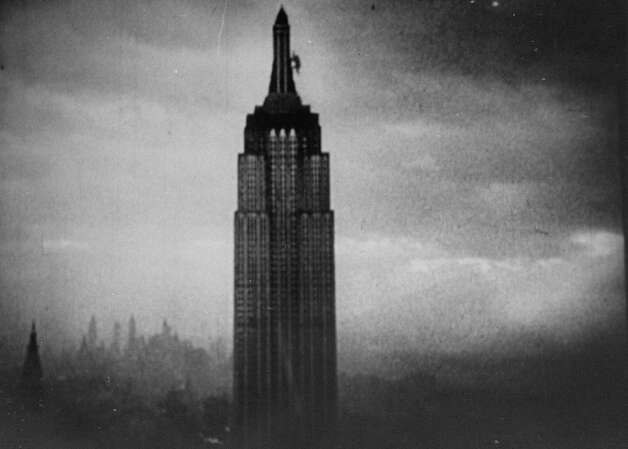 King Kong clinging and climbing to top of Empire State building tower. Photo: Alfred Eisenstaedt, Time & Life Pictures/Getty Image / Time & Life Pictures