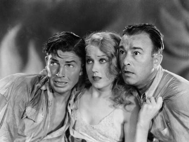 "Bruce Cabot, Fay Wray, and Robert Armstrong look up in horror in a scene from the film ""King Kong."" Photo: Archive Photos, Getty Images / 2012 Getty Images"