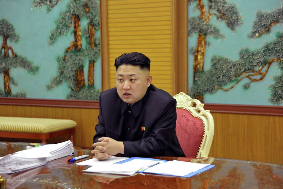 Kim Jong Un. The North Korea leader would make a great public relations officer … and, well, it would be super-duper weird. Photo: Uncredited, ASSOCIATED PRESS / A2013