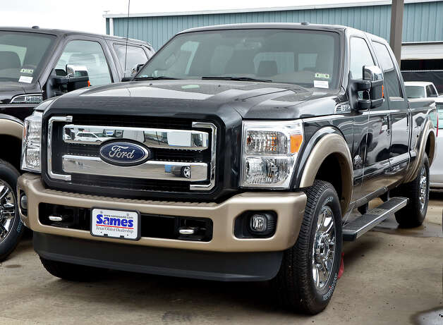 1. The most-stolen vehicle of 2012 was the Ford Pickup. / LAREDO MORNING TIMES