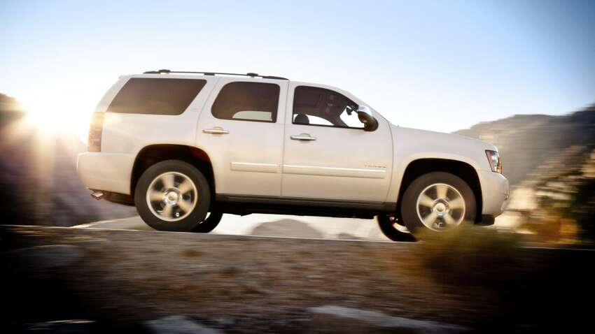 According to stolen vehicle recovery service LoJack, these 10 models were targeted by thieves the most last year: 10. Chevrolet Tahoe Source: LoJack