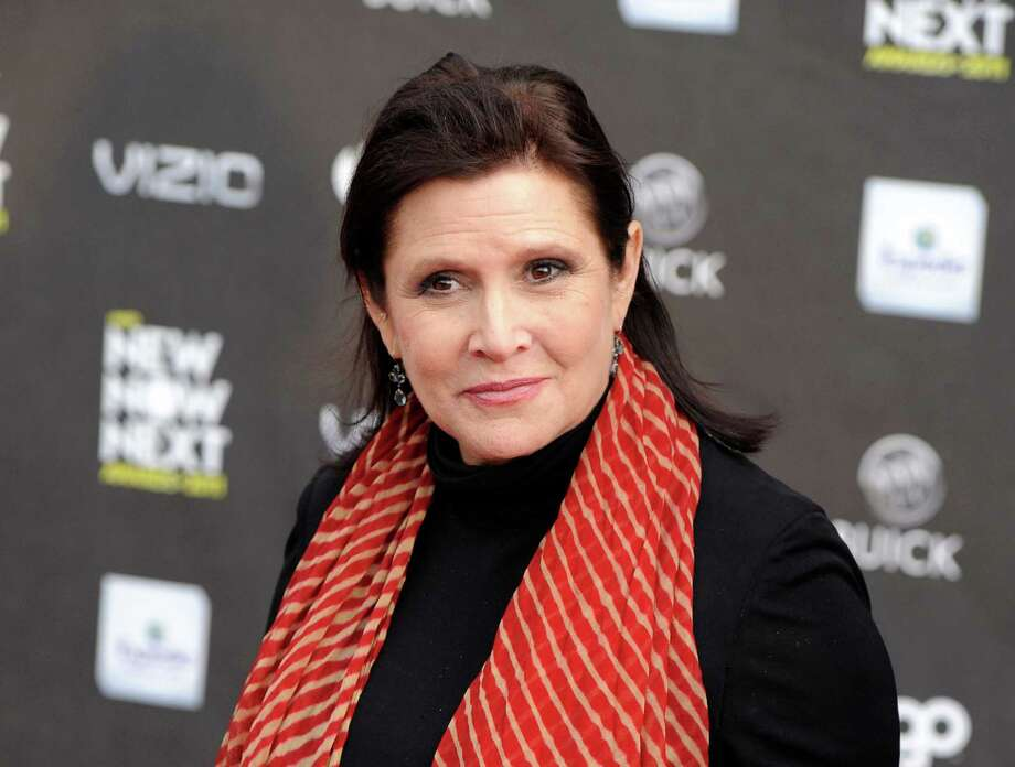 Carrie Fisher  (AP Photo/Chris Pizzello, file) Photo: Chris Pizzello