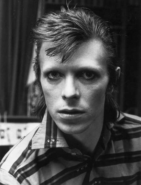 David Bowie, pop star and actor in1973.