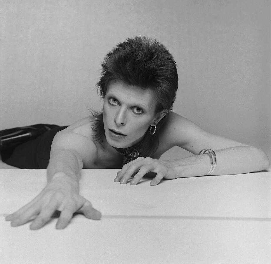 English singer, musician and actor David Bowie, circa 1974. Photo: Terry O'Neill, Getty Images / 2006 Getty Images