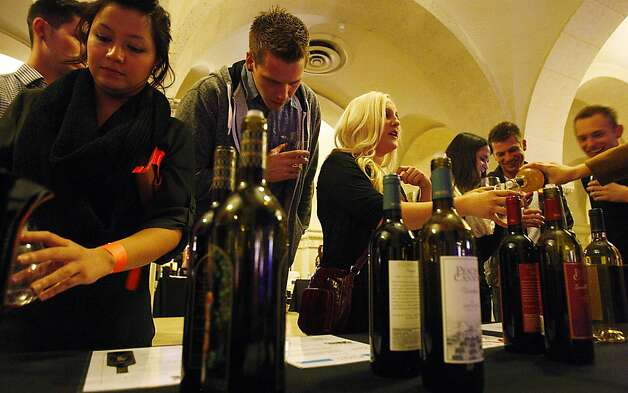Wine Riot, a Los Angeles wine-tasting event focused on Millennials, is one of many efforts that have helped push wine sales to record levels. Photo: Luis Sinco, McClatchy-Tribune News Service