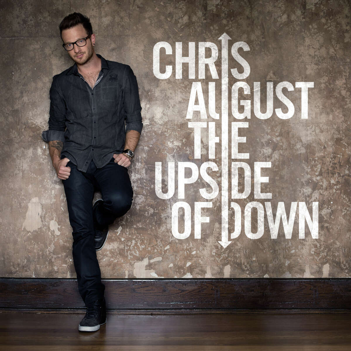 """Chris August found special meaning in single """"Center of It,"""" from his new CD, """"The Upside of Down,"""" after a serious skateboarding accident."""