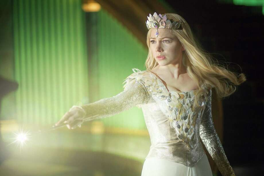 "Michelle Williams stars as Glinda in ""Oz the Great and Powerful."" Photo: Merie Weismiller Wallace / ©Disney Enterprises, Inc. All Rights Reserved.."