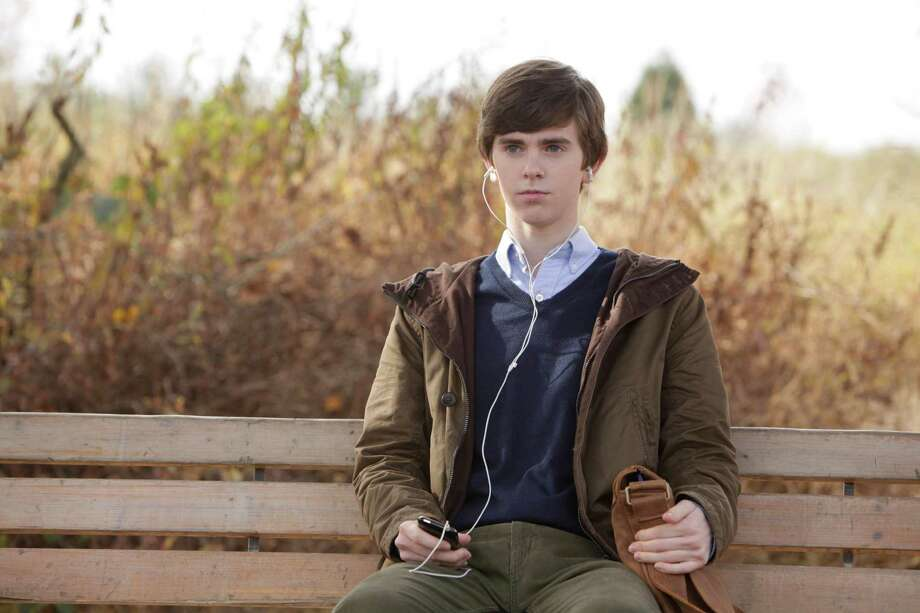 "Freddie Highmore plays Norman Bates in ""Bates Motel"" on A&E. Photo: A&E"