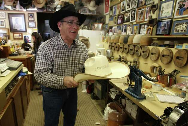 "Gary A. Cohen's family has been making cowboy hats in Houston since 1915, when his grandfather started the American Hat Co. on Main. His father and uncle tooc over, followed by Cohen, who now operates the Hat Store on Richmond by Chimney Rock. ""My dad told me you know the customer is ready when he's smiling,"" he says.Kyrie O'Connor gets the scoop on why the customers always come first with Cohen at HoustonChronicle.com. We asked our readers to share their favorite Houston businesses that have been in their families for generations. Here's what they had to say. Photo: Karen Warren, Staff / © 2013 Houston Chronicle"