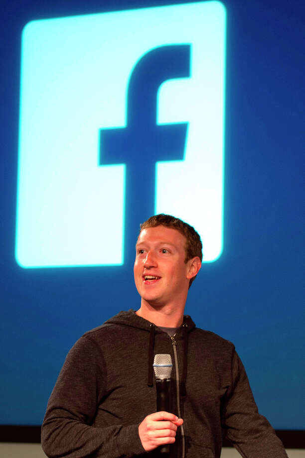 Mark Zuckerberg, chief executive officer and founder of Facebook Inc., speaks during an event at the company's headquarters in Menlo Park on Thursday. Photo: David Paul Morris, Bloomberg / © 2013 Bloomberg Finance LP