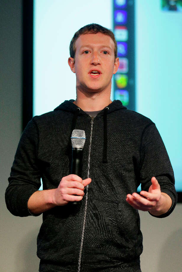 Facebook CEO Mark Zuckerberg is proof that nerds rule the world.  Photo: Jeff Chiu, Associated Press / AP