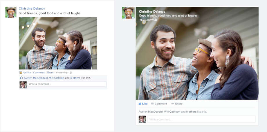 Facebook redesigned news feed will rebuild each story to be much more vibrant and colorful and highlight the content that your friends are sharing.