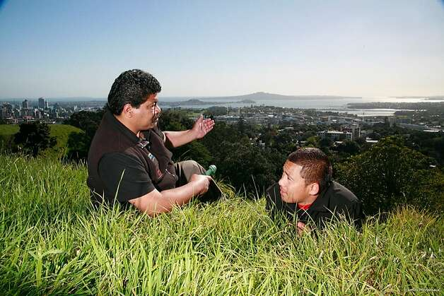 The region the Maori call Tamaki Makaurau (Auckland) is steeped in history, which local guides can share. Similar to the area around modern Honolulu and Pearl Harbor, its harbours and fertile soil offered rich sources of food. While Maori traveling by canoe would use the isthmus to cross from one coast to the other, resident Maori established defense fortresses on the many volcanic cones, a landscape shared with the Hawaiian islands. Photo: James Heremaia