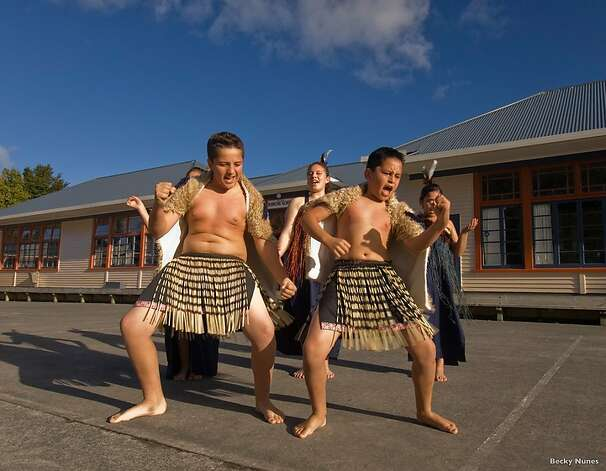 Every June, schools throughout New Zealand celebrate the Maori New Year festival of Matariki with cultural performances and exhibitions of art using traditional designs. Matariki is the name for the Pleiades, whose winter rising in the southern sky heralds the start of the new year. In Hawaiian, the constellation is called Makali'i, and its appearance  in the northern sky in winter sparked a similar new year's celebration (Makahiki)  in ancient times, which is being revived in the islands today. Photo: Becky Nunes