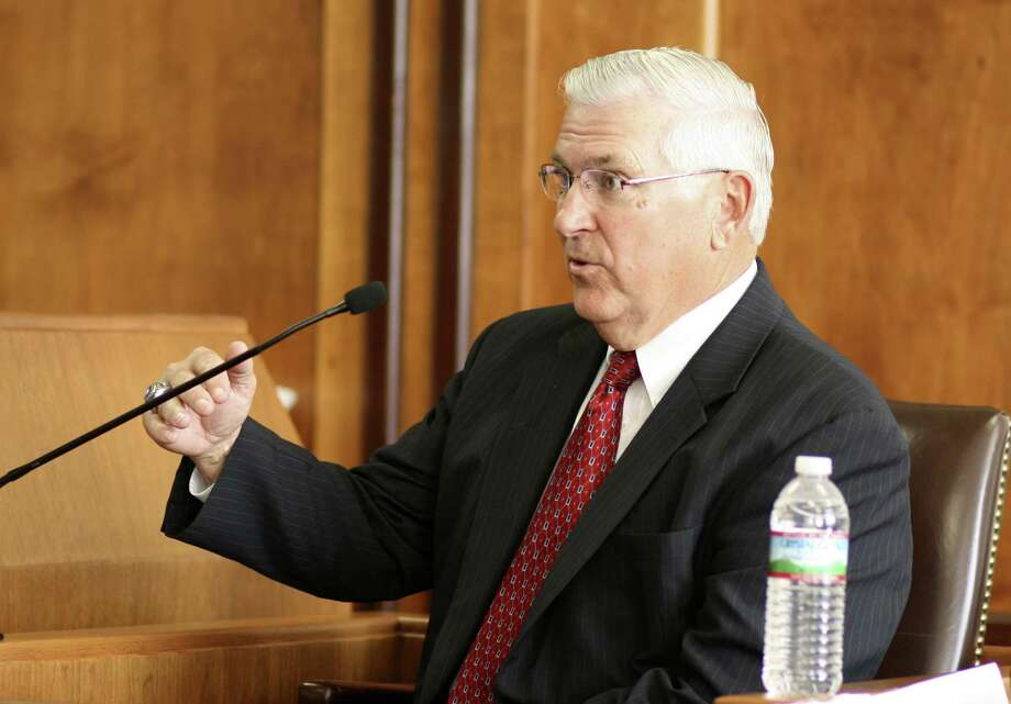 Retired Northside ISD Superintendent John Folks points out a state constitutional prohibition on appropriating state funds for religious purposes, which includes religious schools. Photo: San Antonio Express-News