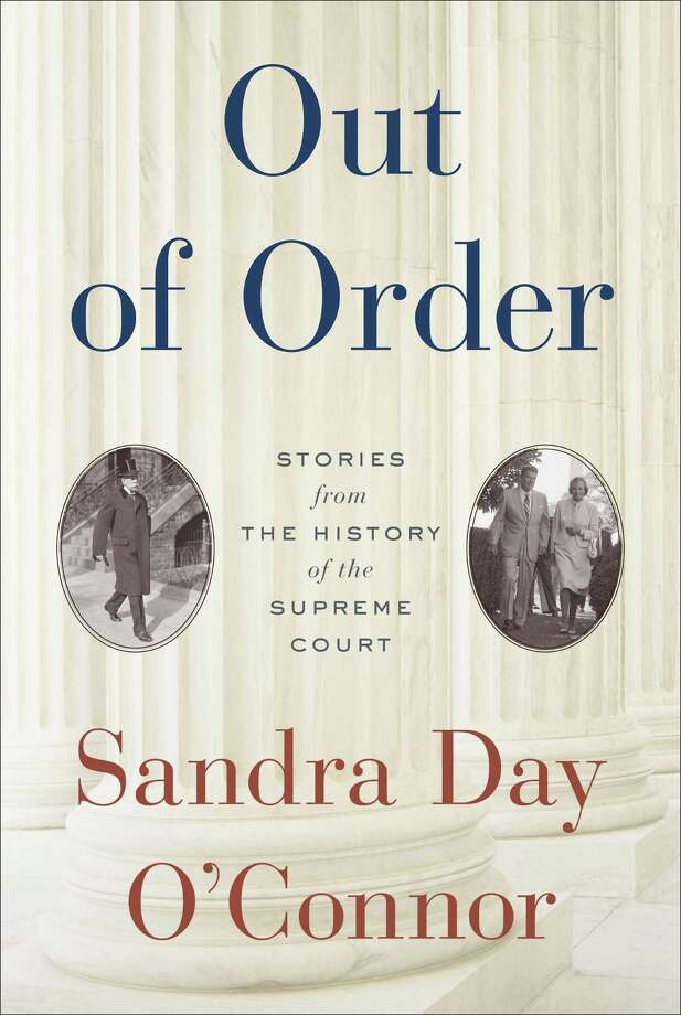 "This book cover image released by Random House shows ""Out of Order: Stories from the History of the Supreme Court,"" by Sandra Day O'Connor. (AP Photo/Random House) / Random House"