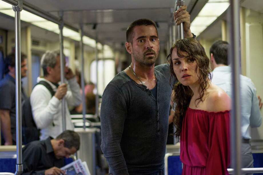 John Baer/FilmDistrict Noomi Rapace and Colin Farrell in FilmDistrict?s DEAD MAN DOWN Photo: John Baer