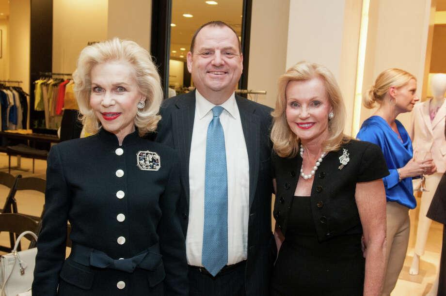 Lynn Wyatt, Perryn Leech, and Pat Breen