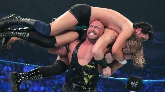 WWE Superstar Ryback will compete in Road to Wrestlemania at Webster Bank Arena in Bridgeport on Friday, March 15.