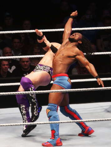 WWE Superstar Kofi Kingston will compete in Road to Wrestlemania at Webster Bank Arena in Bridgeport on Friday, March 15. Photo: Joern Pollex, Bongarts/Getty Images / 2012 Getty Images