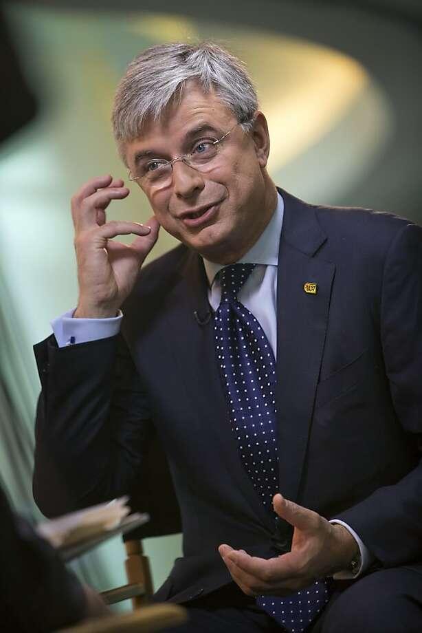 Hubert Joly, Best Buy CEO, says the program was flawed. Photo: Scott Eells, Bloomberg