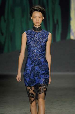 A model walks the runway at the Vera Wang Spring Summer 2013 fashion show during New York Fashion Week on September 11, 2012 in New York, United States. Photo: Karl Prouse/Catwalking, Getty Images / 2012 Catwalking