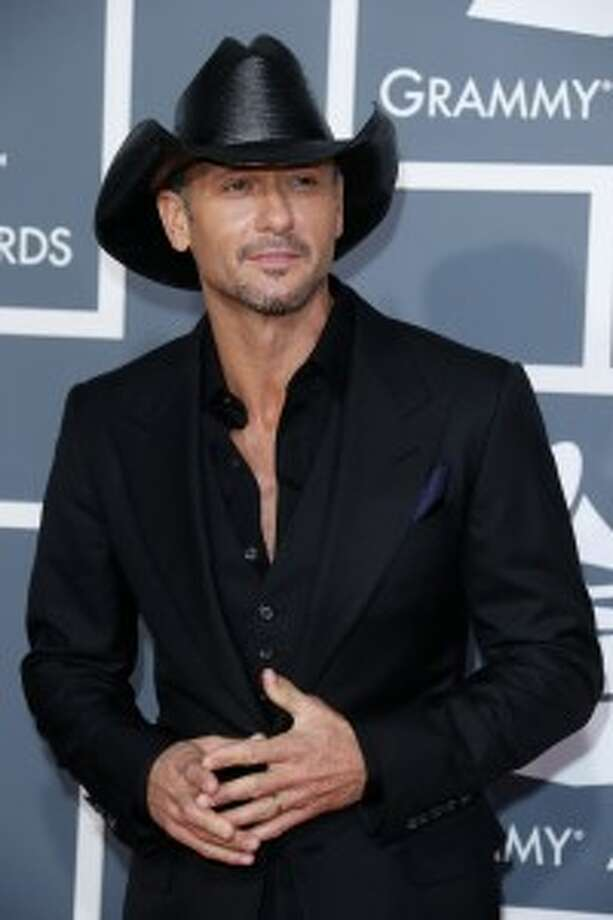 Country singer Faith Hill and husband Tom McGraw also both have their own fragrances.