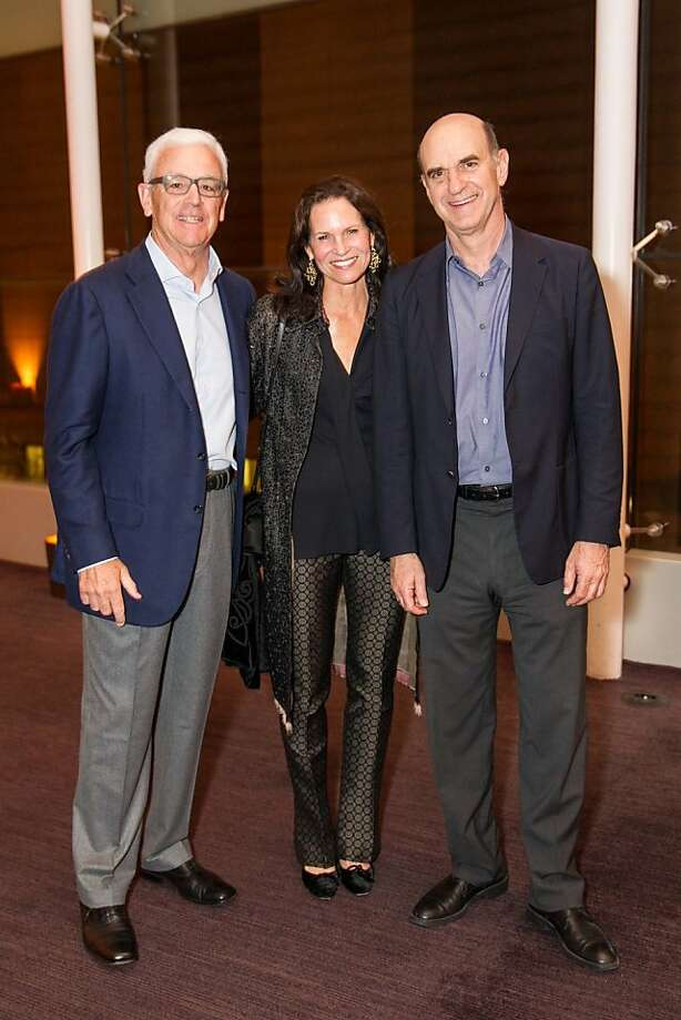 Andrew Pilara, Randi Fisher and Bob Fisher at SFMOMA's Garry Winogrand opening reception on March 06, 2013. Photo: Drew Altizer Photography, Photo : Laura Morton For Drew Al