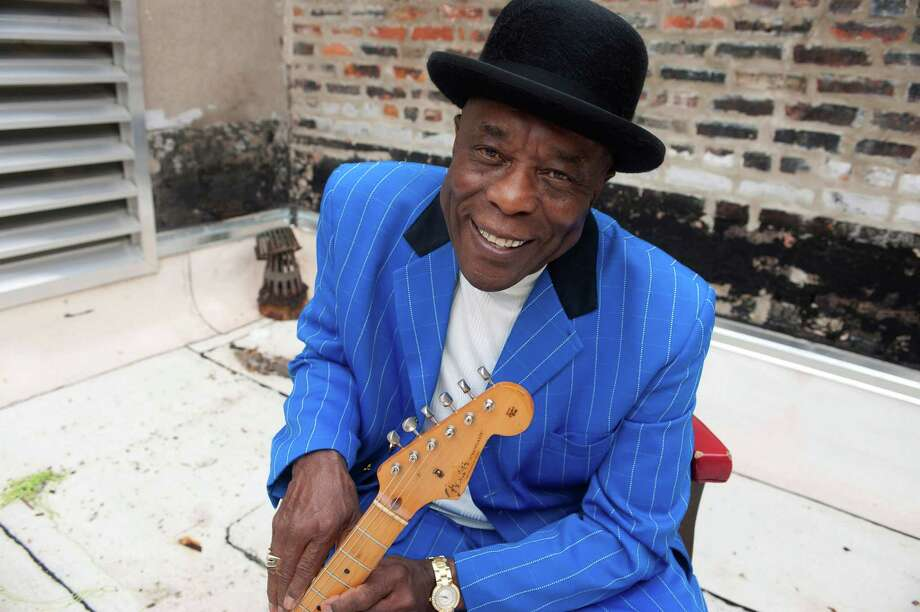 Sunday: Blues pioneer Buddy Guy performs Sunday night at the Ridgefield Playhouse.