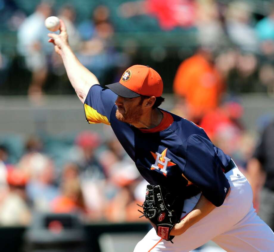 Astros 4, Nationals 2Philip Humber allowed one hit in four innings of work. Photo: David J. Phillip