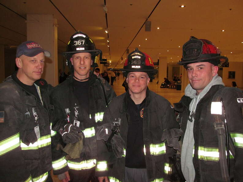 Were you Seen at the 25th Stair Climb Event at the Empire State Plaza's Corning Tower, a benefit f