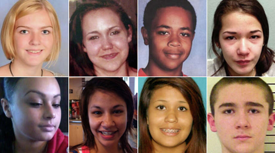 Click through for a look at Washington's missing children as reported by the State Patrol and FBI. The Patrol's Missing and Unidentified Persons Unit can be reached at 1-800-543-5678 or email at mpu@wsp.wa.gov.