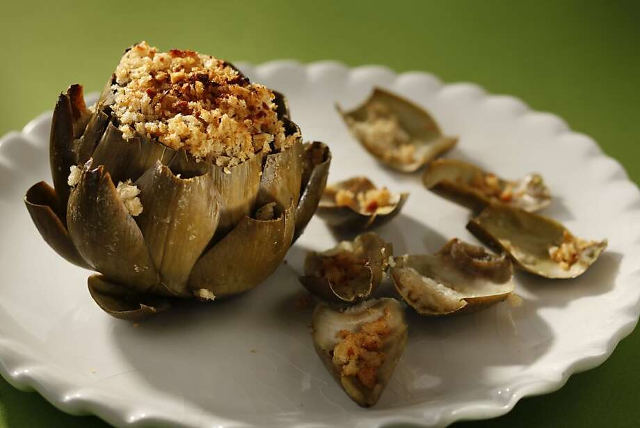 Stuffed Artichokes Photo: Craig Lee, Special To The Chronicle 2009
