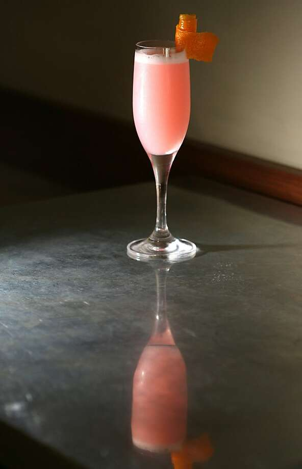 A Class Act cocktail at the Range restaurant in San Francisco. Photo: Frederic Larson, The Chronicle 2008