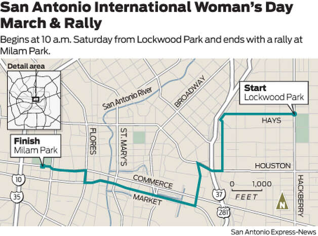 Begins at 10 a.m. Saturday from Lockwood Park and ends with a rally at Milam Park. Photo: Harry Thomas