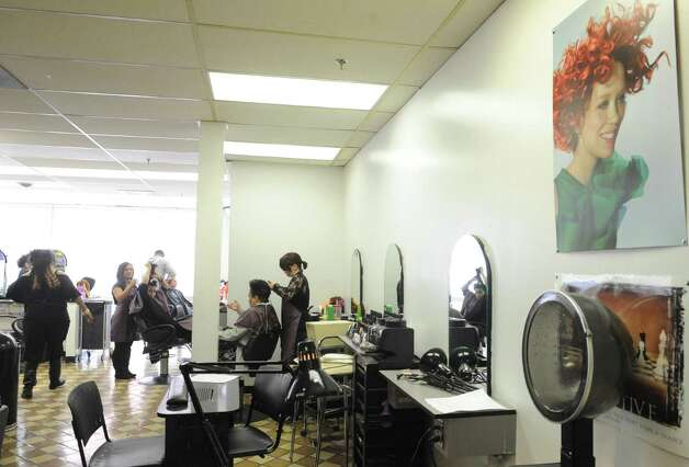 The cosmetology department at the Capital District Education Opportunity Center on Thursday March 7, 2013 in Troy, N.Y. (Michael P. Farrell/Times Union) Photo: Michael P. Farrell