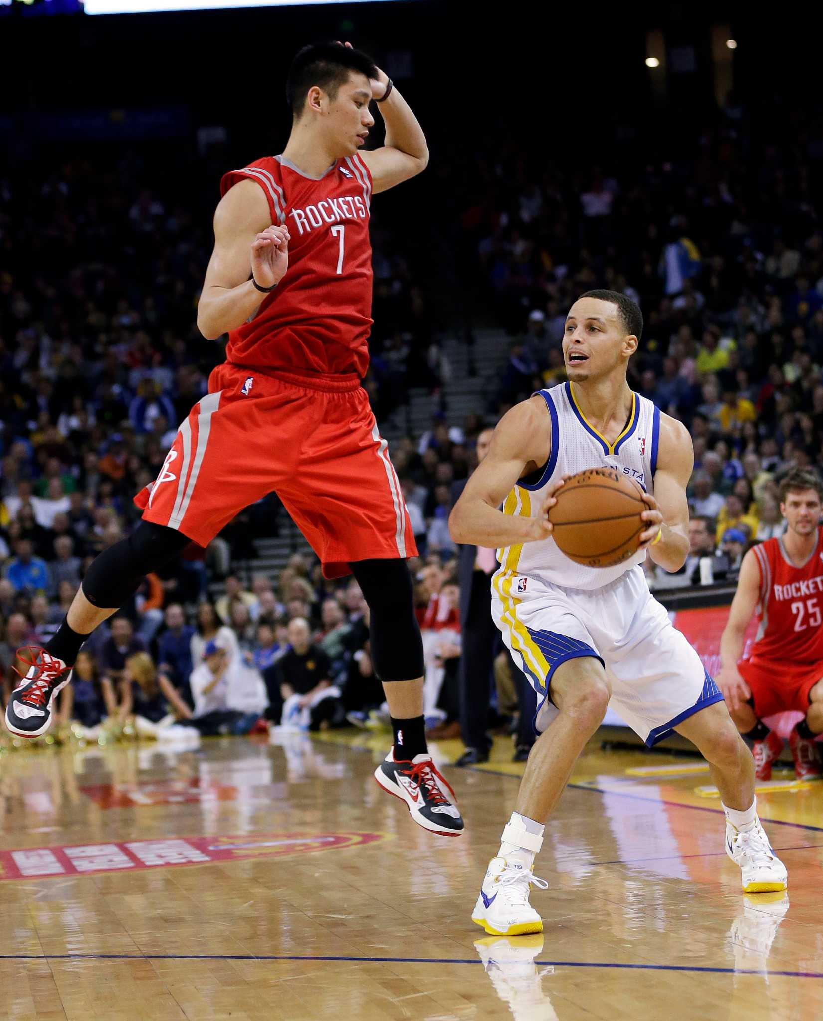Warriors Present Danger, Opportunity For Rockets