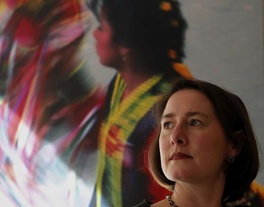 Catherine King, interim executive director of the virtual International Museum of Women founded in San Francisco, says it has a global influence. Last year, the museum drew 600,000 visitors from 200 countries. Photo: Lacy Atkins, The Chronicle