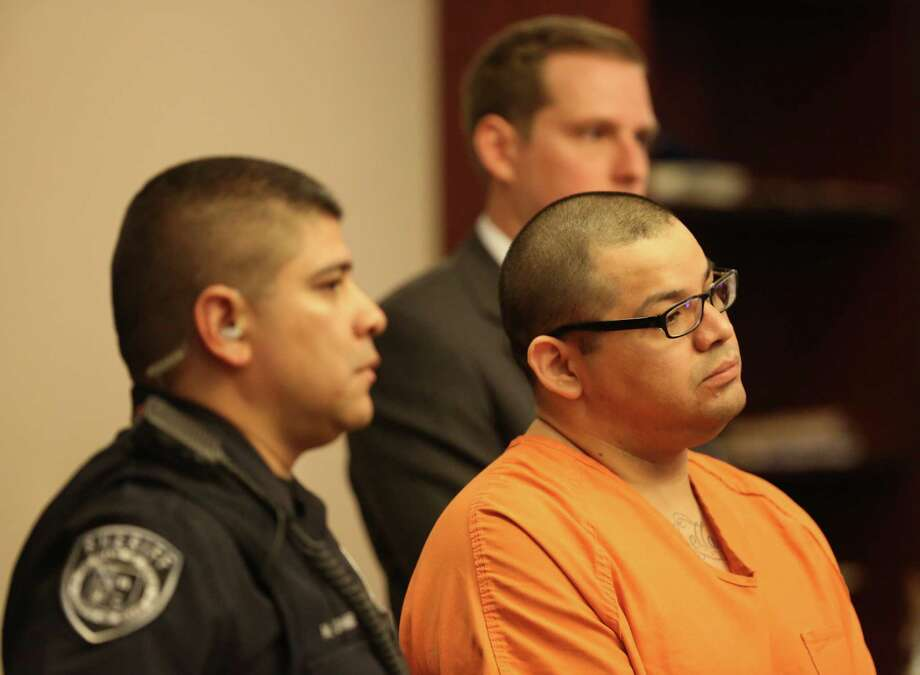 Gabriel Reyes Castillo killed his ex-girlfriend's male houseguest. Photo: Helen L. Montoya, San Antonio Express-News / ©2013 San Antonio Express-News