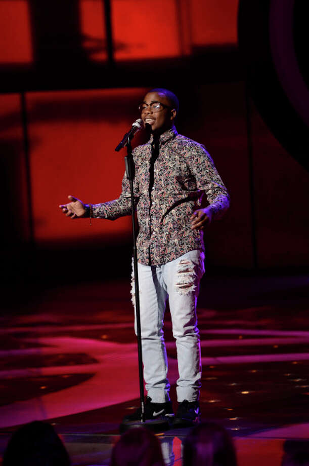 AMERICAN IDOL: Burnell Taylor makes it to the final 10 on AMERICAN IDOL airing Thursday, March 7 (8:00-9:30 PM ET/PT) on FOX. CR: Michael Becker / FOX. Copyright: FOX.