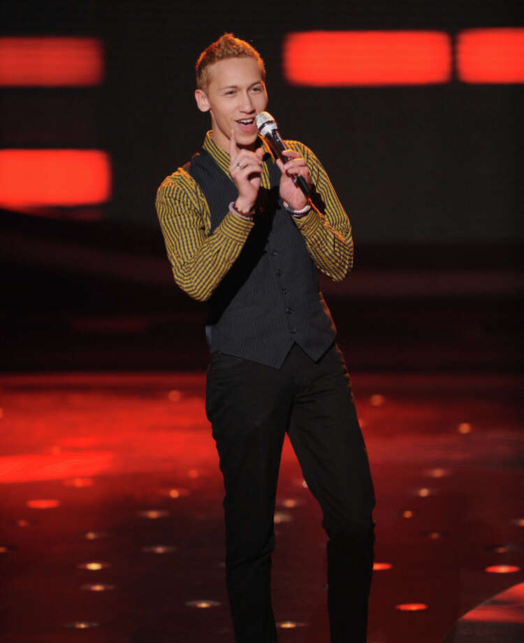 AMERICAN IDOL: Devin Velez makes it to the final 10 on AMERICAN IDOL airing Thursday, March 7 (8:00-9:30 PM ET/PT) on FOX. CR: Michael Becker / FOX. Copyright: FOX.