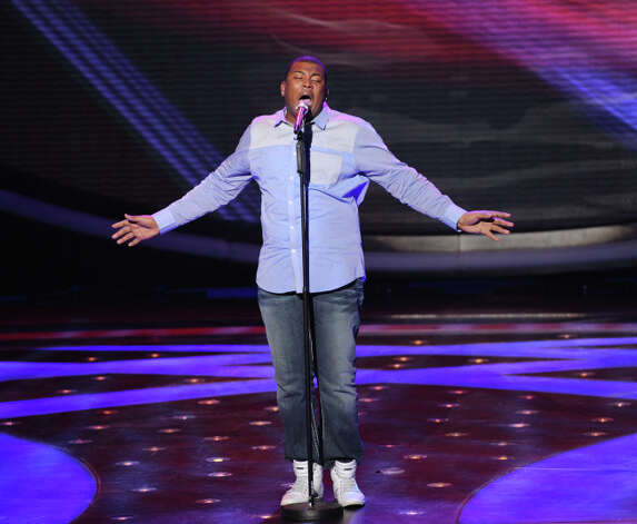 AMERICAN IDOL: Curtis Finch, Jr. makes it to the final 10 on AMERICAN IDOL airing Thursday, March 7 (8:00-9:30 PM ET/PT) on FOX. CR: Michael Becker / FOX. Copyright: FOX.