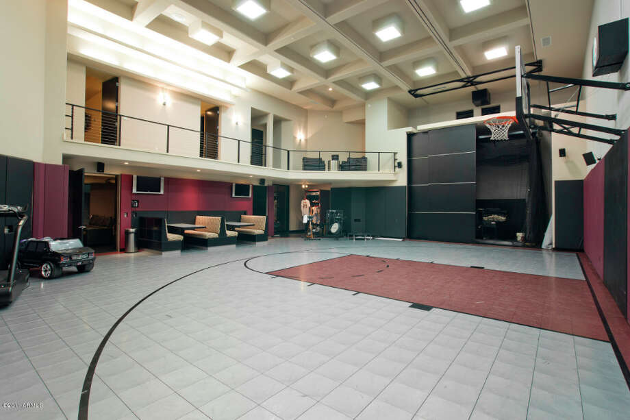 The huge sports facility in Timmy's Arizona home