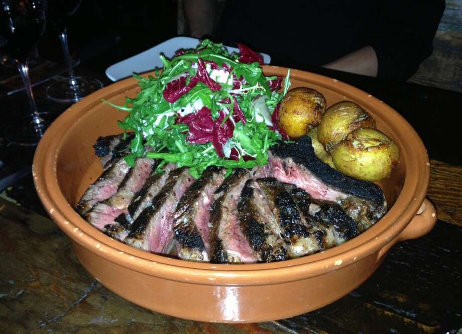 Steak for four at Duende in Oakland
