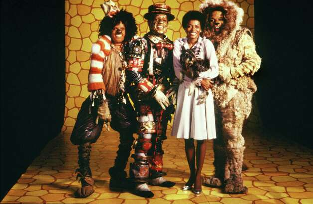 "In 1975, a stage play titled ""The Wiz"" recast Oz with African-American actors (including, left to right, Michael Jackson, Nipsey Russell, Diana Ross and Ted Ross) and was subsequently turned into a film directed by Sidney Lumet in 1978. Photo: Michael Ochs Archives, Getty Images / Michael Ochs Archives"